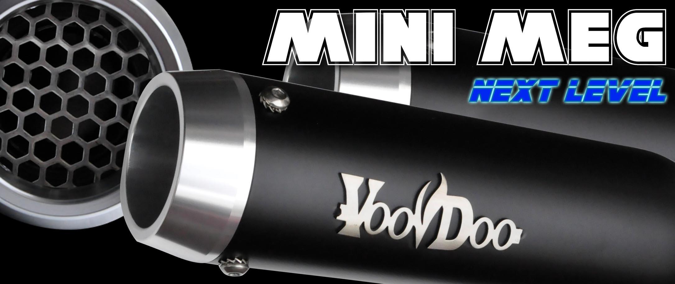 VooDoo Industries VDRB2090 Black Replacement Bar End for Voodoo Clip-Ons